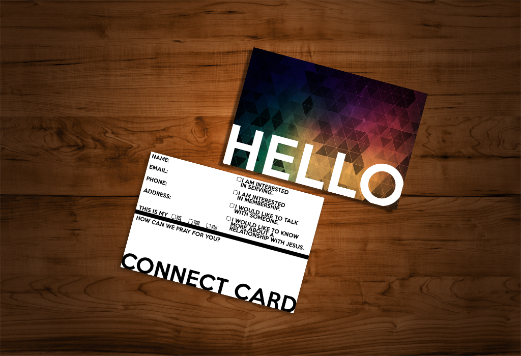 Vibrant Connection Cards Josh Jack Carl